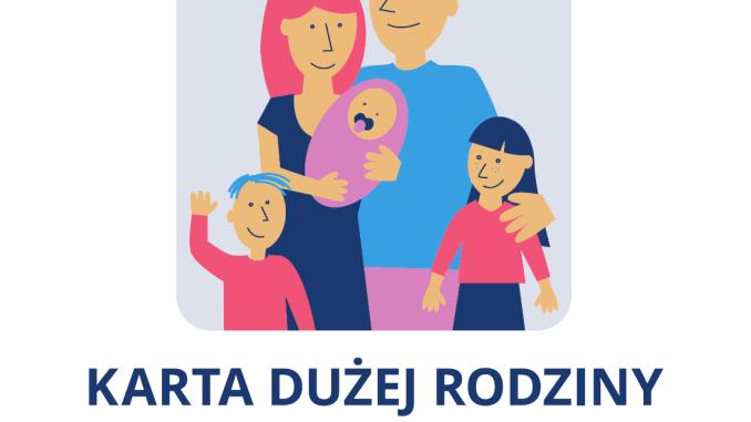 Logo programu Karta Dużej Rodziny