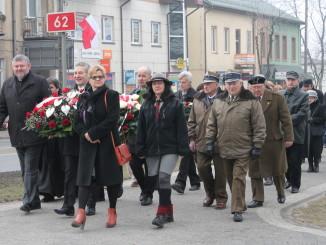 Uczestnicy Dnia Pamięci Żołnierzy Niezłomnych