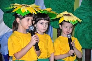 Przedszkolaki uczestniczące w konkursie