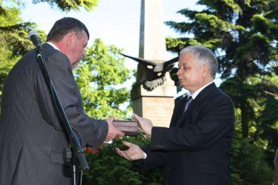 Order Orła Białego - ks. S. Brzóska
