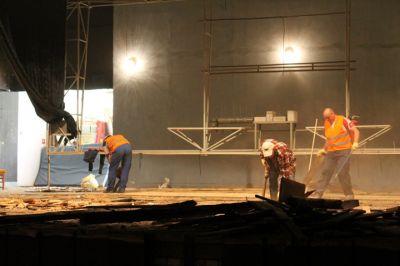 Zdjęcie z prac remontowych