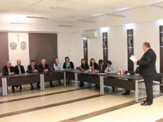 Spotkanie burmistrza z delegacją z Jekabpils