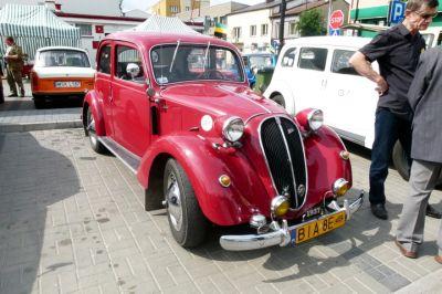 Zabytkowy samochód