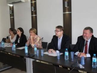 Burmistrz Miasta z delegacją z Perstorp