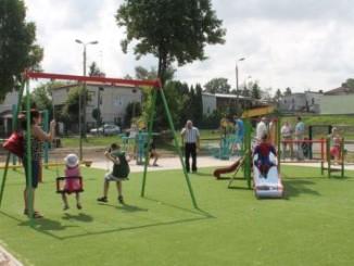 Plac zabaw przy Bulwarze
