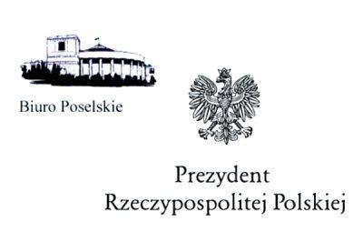 Logo Sejmu i Prezydenta RP