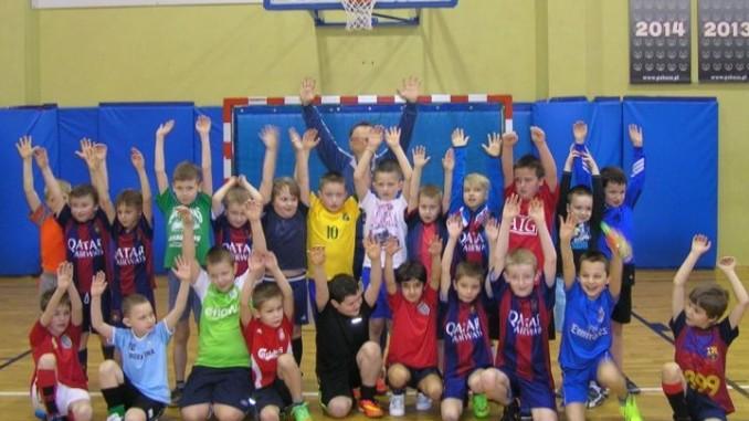 Dzieci uczestniczące w zajęciach