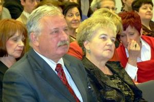 Regina Skorupka i Jerzy Maksjan