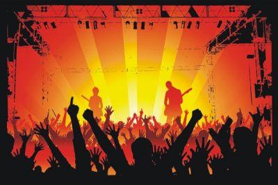Plakat z koncertem