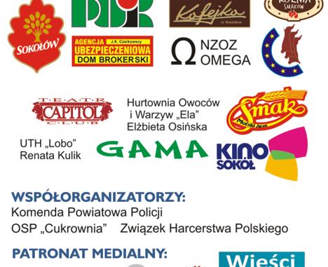 Plakat - sponsorzy