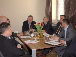 Goście z Ukrainy w Sokołowie