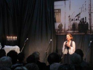 Artystka podczas występu