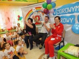 Przedszkolaki z Anną Jesień