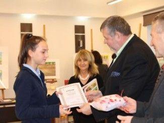Wręczanie nagród przez Burmistrza