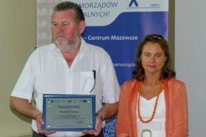 Przedstawiciele Miasta - Burmistrz i Skarbnik