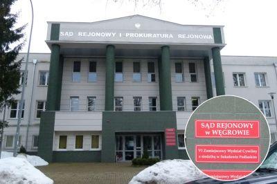 Budynek Sądu w Sokołowie