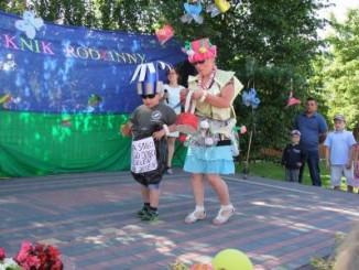 Przedszkolak podczas pokazu