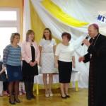 foto: Wizyta Biskupa Tadeusza Pikusa w Miejskim Przedszkolu nr 3 oraz Żłobku Miejskim w Sokołowie Podlaskim - DSC00328 150x150