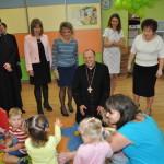 foto: Wizyta Biskupa Tadeusza Pikusa w Miejskim Przedszkolu nr 3 oraz Żłobku Miejskim w Sokołowie Podlaskim - DSC 9128 150x150