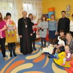 foto: Wizyta Biskupa Tadeusza Pikusa w Miejskim Przedszkolu nr 3 oraz Żłobku Miejskim w Sokołowie Podlaskim - DSC 9177 150x150