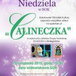 """foto: Bajkowa Niedziela - """"Calineczka"""" - plakat bajkowa niedziela calineczka 150x150"""