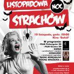 foto: Listopadowa noc strachów w SOK - plakat maraton filmowy listopadowa noc strachu 150x150