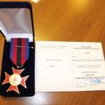 foto: Złoty Krzyż Związku Inwalidów Wojennych RP dla Burmistrza Miasta - MG 3747 150x150