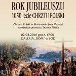 """foto: SUTW: """"Chrzest Polski w malarstwie Jana Matejki"""" - plakat 1 150x150"""