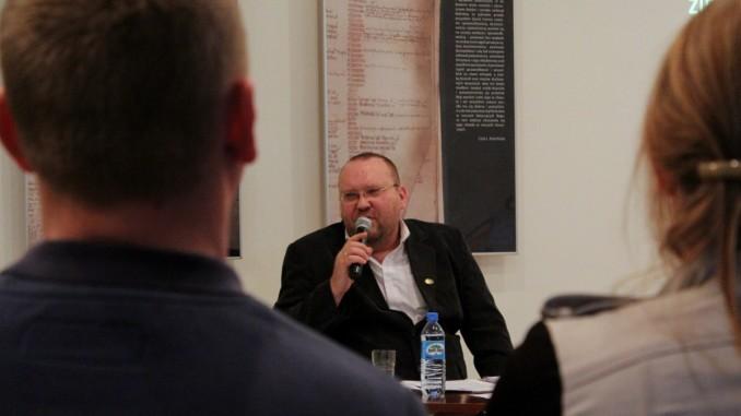 Jacek Odziemczyk i uczestnicy spotkania