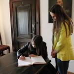 foto: Praktyki językowe młodzieży z Dubna w sokołowskich szkołach - MG 4861 150x150