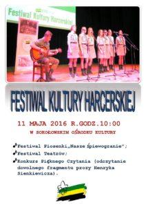 01 - 11.05.2016 - Festiwal Kultury Harcerskiej