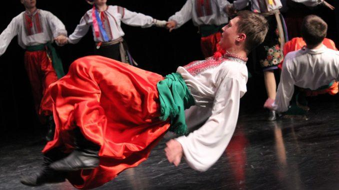 Tancerze podczas występów