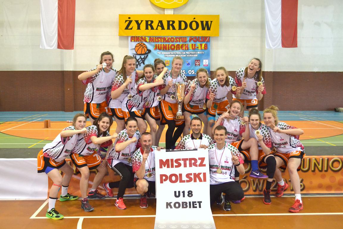 mistrzynie z sokolowa U18 2016