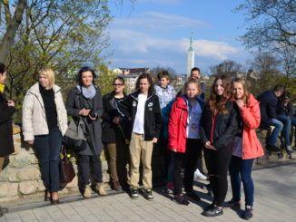 Sokołowska młodzież w Jekabpils