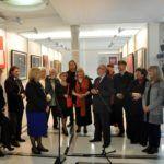 """foto: Wystawa ''Ofiarom Katastrofy Smoleńskiej"""" w Sejmie RP - Senator Alicja Zając i Senator 150x150"""