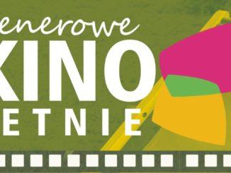Plakat informacyjny - kino letnie