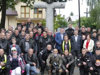 Uczestnicy rajdu w Sokołowie
