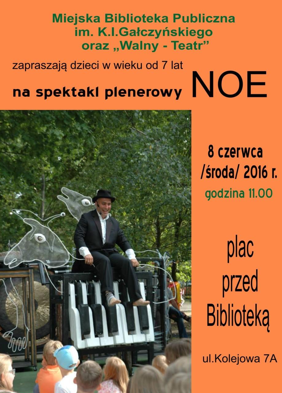 plakat NOE