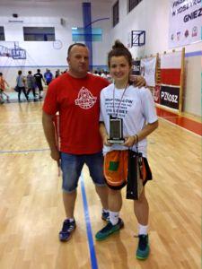 MVP  z MKK Sokolow Aleksandra Iwaniuk