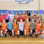 foto: Amerykańskie koszykarki w Sokołowie - grupowe 150x150