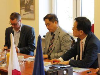 Delegacja z Korei Południowej
