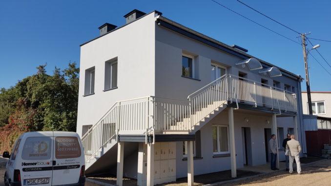 Nowe mieszkania socjalne