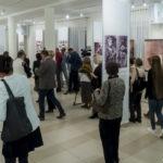 Widzowie wystawy