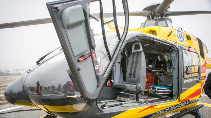 Uroczyste otwarcie bazy Lotniczego Pogotowia Ratunkowego