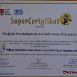 foto: SuperCertyfikaty dla sokołowskiego przedszkola - DSC00803 150x150