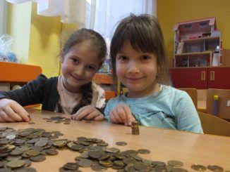 Przedszkolaki uczestniczące w projekcie