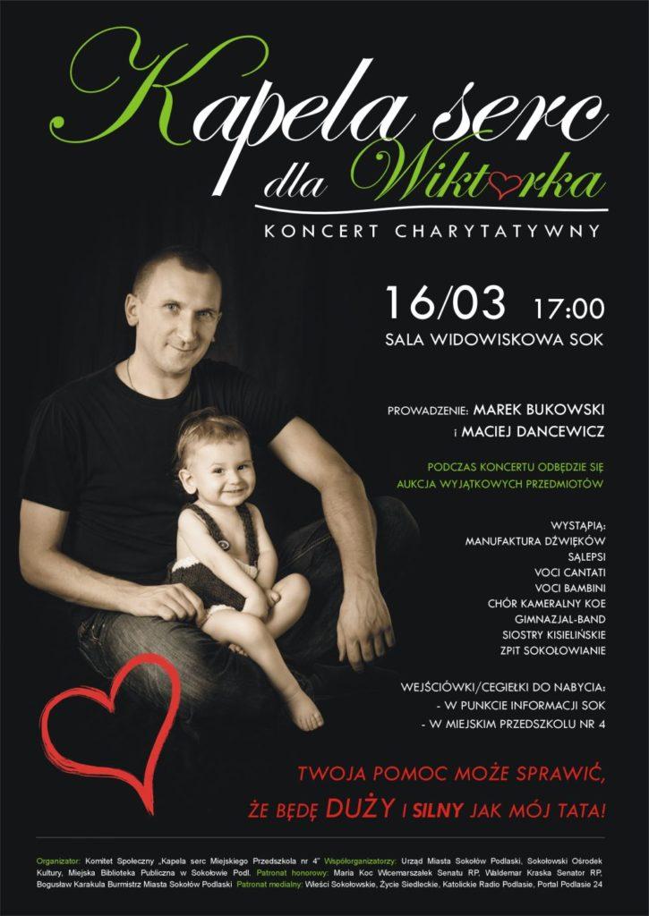 "foto: Koncert charytatywny ""Kapela serc dla Wiktorka"" - Kapela serc dla Wiktorka 725x1024"