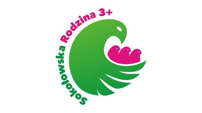 """Logo programu """"Sokołowska Rodzina 3+"""""""