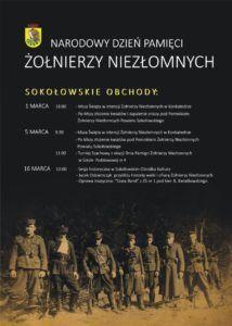 foto: Pamięci Żołnierzom Niezłomnym - 02 Sokołowskie ochody Żołnierze Niezłomni 214x300