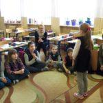 """foto: Goście z Białorusi w Kręgu Szkoły """"Jedynki"""" - w II c 150x150"""